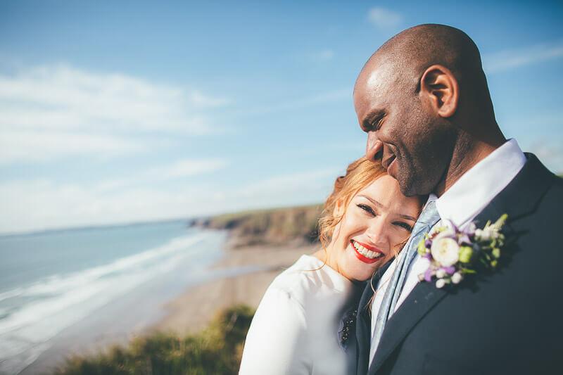 Beth & Nat • Druidstone 10 | Bristol Wedding Photographer