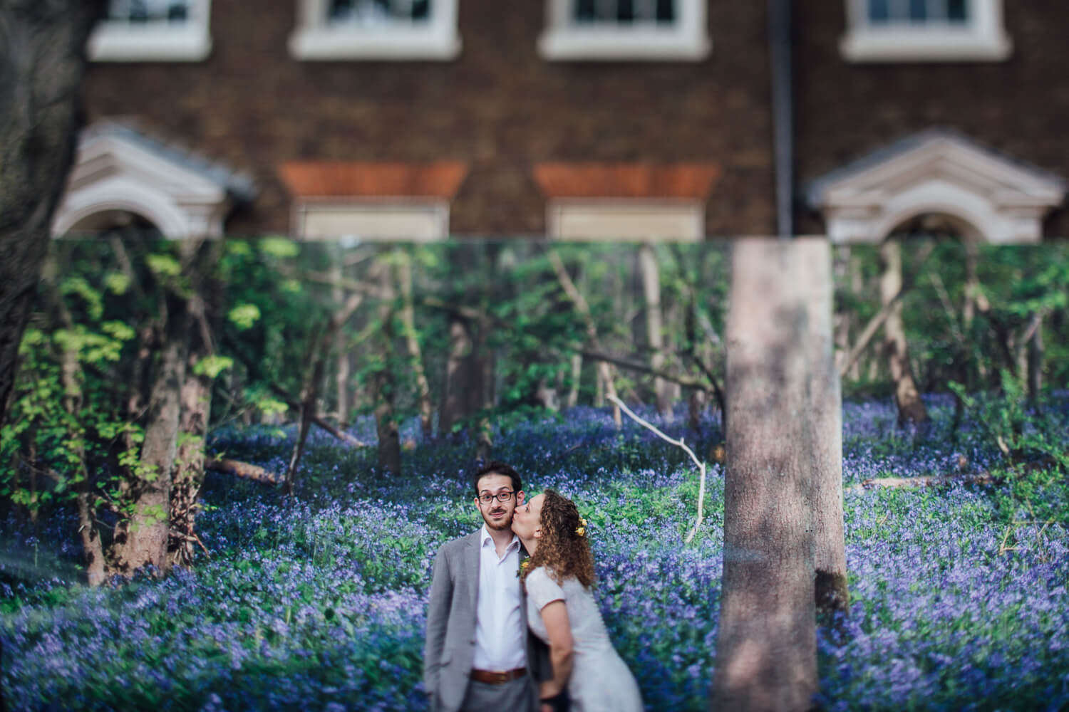 Islington Wedding Photography Tilt Shift