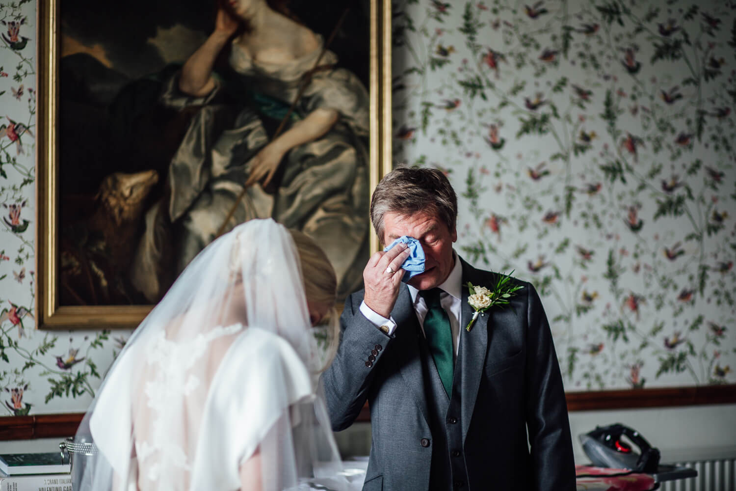Emotional Father of Bride