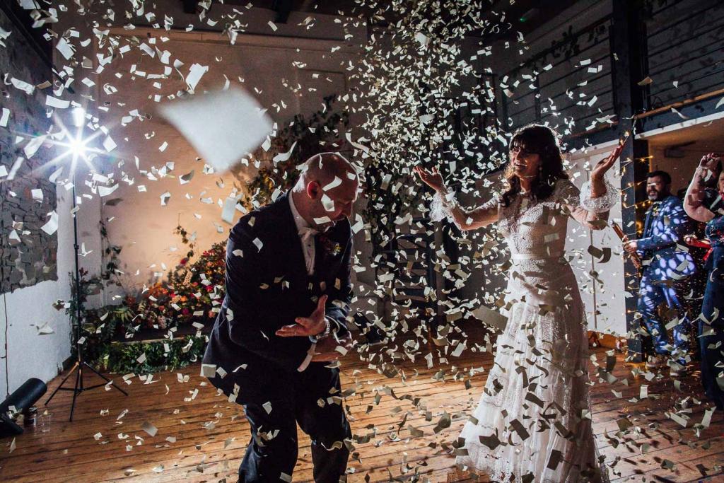 dance floor confetti