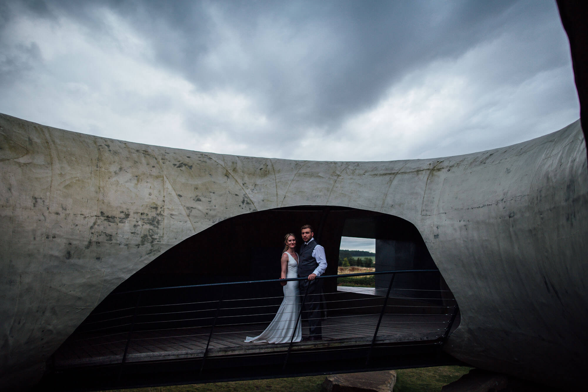 Hauser & Wirth Wedding Photography