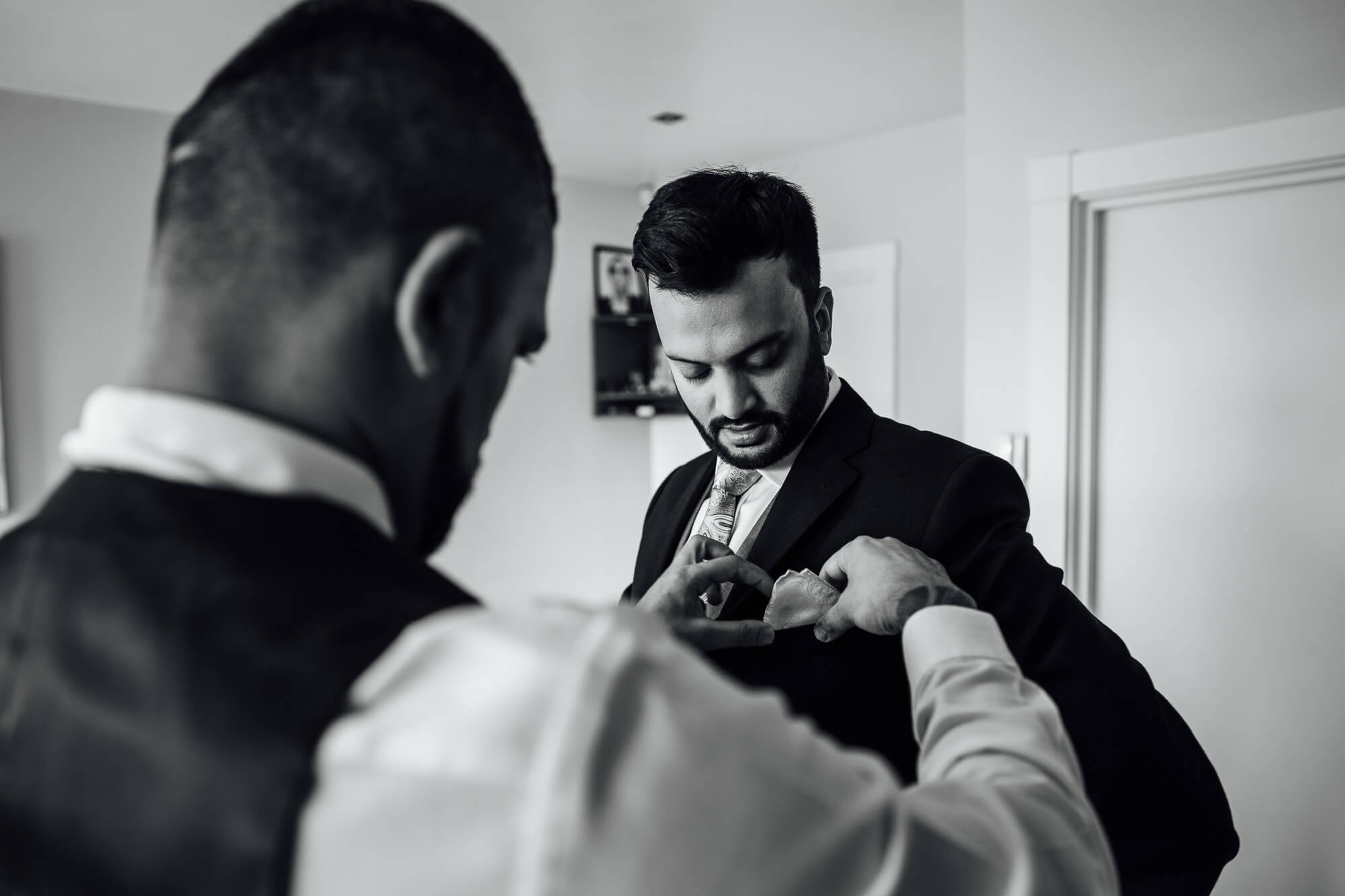 Groom prep in London