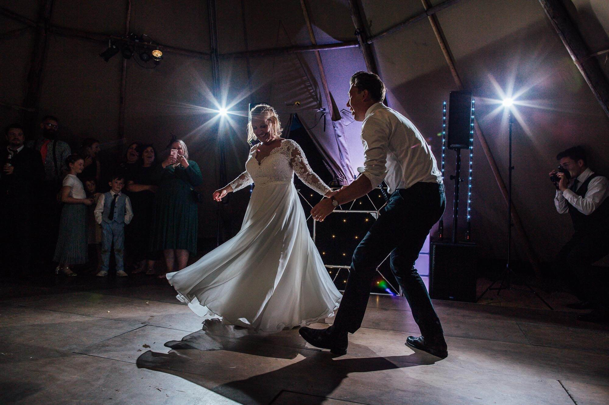 tipi first dance